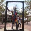 Underground Atlanta's Festival Plaza, scultura 'Treshold'