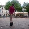 A Villeneuve d'Avignon in Place Jean Jaures