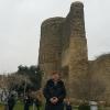 Nella Old, Baku, alla Giz Galasi, nota anche come Maiden Tower