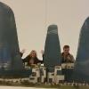 Il Plastico delle Baku Flame Towers nel  Heydar Aliyev Center