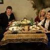 Cena al Seki Restaurant con gli amici Turana e Ismaiyl