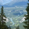 Panorama da Sulphur Mountain
