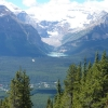 A Lake Louise dal monte Whitehorn