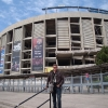 Al Camp Nou prima di Barcellona-Inter
