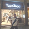 In Paseo de Gracia, ristorante Tapa Tapa