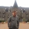A La Roche en Ardenne, davanti all'Hotel Floreal