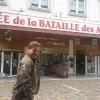 A La Roche en Ardenne, entrando al Museo della Battaglia delle Ardenne