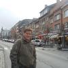 A Bastogne, sulla Rue du Sablon