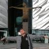 La Polena davanti al Titanic Museum