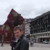 Al Guggenheim, il Puppy di Jeff Koons
