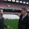 Allo stadio San Mames, con la guida Jon