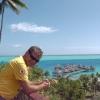 Hilton Bora Bora Nui Resort & Spa dalla collina