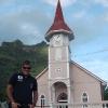 A Vaitape, Chiesa di Faanui