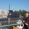 A Zeebrugge, davanti al sommergibile sovietico Foxtrot