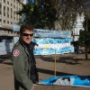 Plaza de Mayo, reduci delle Falklands o Malvinas