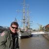 Puerto Madero, fregata General Sarmiento sul Rio de la Plata