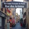 A Frejus, Rue des Artistes