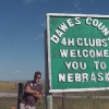 Welcome in Dawes County, Nebraska