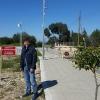 A Paralimni, sulla linea di confine con la Repubblica Turca di Cipro