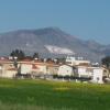 Verso Girne, colpo d'occhio sul picco sul picco Pentadaktylos