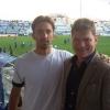 Allo Stadio Papadopoulos con Mattia Cinquini