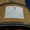 Cartello sulla Green Line in Ledra Street