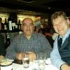 A Cena da Morton's con Franco e Franck