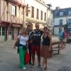A Concarneau, nella Ville Close in Place Saint-Guenole