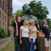 lla Statua di Andersen in Rådhuspladsen