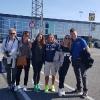 Arrivo Delegazione Calciatori Osoppo al Kastrup Airport
