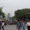 A New Delhi, panorama di Connaught Place