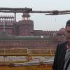 A Old Delhi, davanti al Red Fort