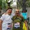 3 aprile. Alla Staffetta Milano Marathon col M.llo Carlini