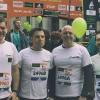 3 aprile. Alla Staffetta Milano Marathon col Gen.Cittadella e i Magg.Lualdi e Gradante