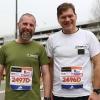 3 aprile. Alla Staffetta Milano Marathon col cap.Giorgi