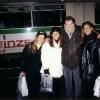 Con Paula Zanetti, Lorena Recoba e Daniela Zamorano