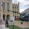 Entrando al Museo de la Revolucion