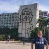 In Plaza de la Revolucion, murales del Che