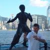 Kowloon, tributo a Bruce Lee in Avenue of the Stars