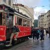 Nostalgic Tram in Istiklal Caddesi