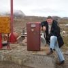 Kulusuk Village, pompa di benzina
