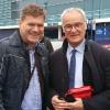 Con Claudio Ranieri