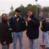 Titosi interisti in Place Bellecour