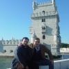 Torre di Belem, con Peppe