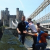 A Conwy, Telford's Suspension Bridge