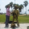 A Venice, Ocean Front Walkway performer