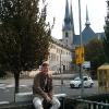 Davanti alla Cattedrale di Notre Dame