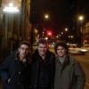 In Portland Street con i tifosi nerazzurri Andrea e Emiliano