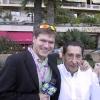 Con Alcides Ghiggia