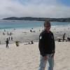 A Carmel, spiaggia